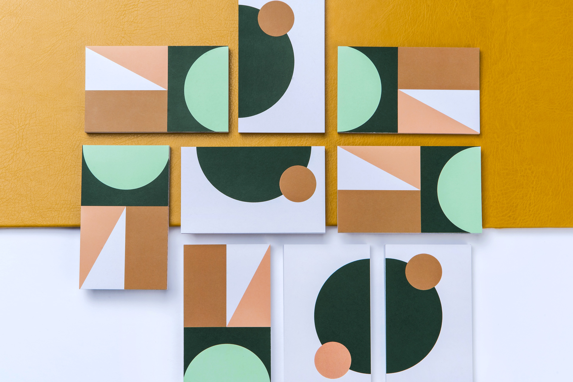 Lokall Business cards pattern