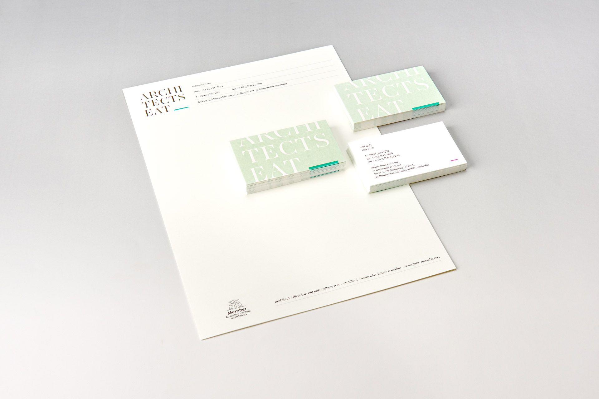 Architects EAT stationary set