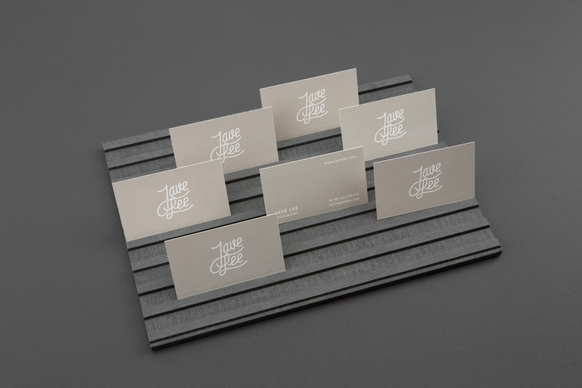 Jave Lee business cards