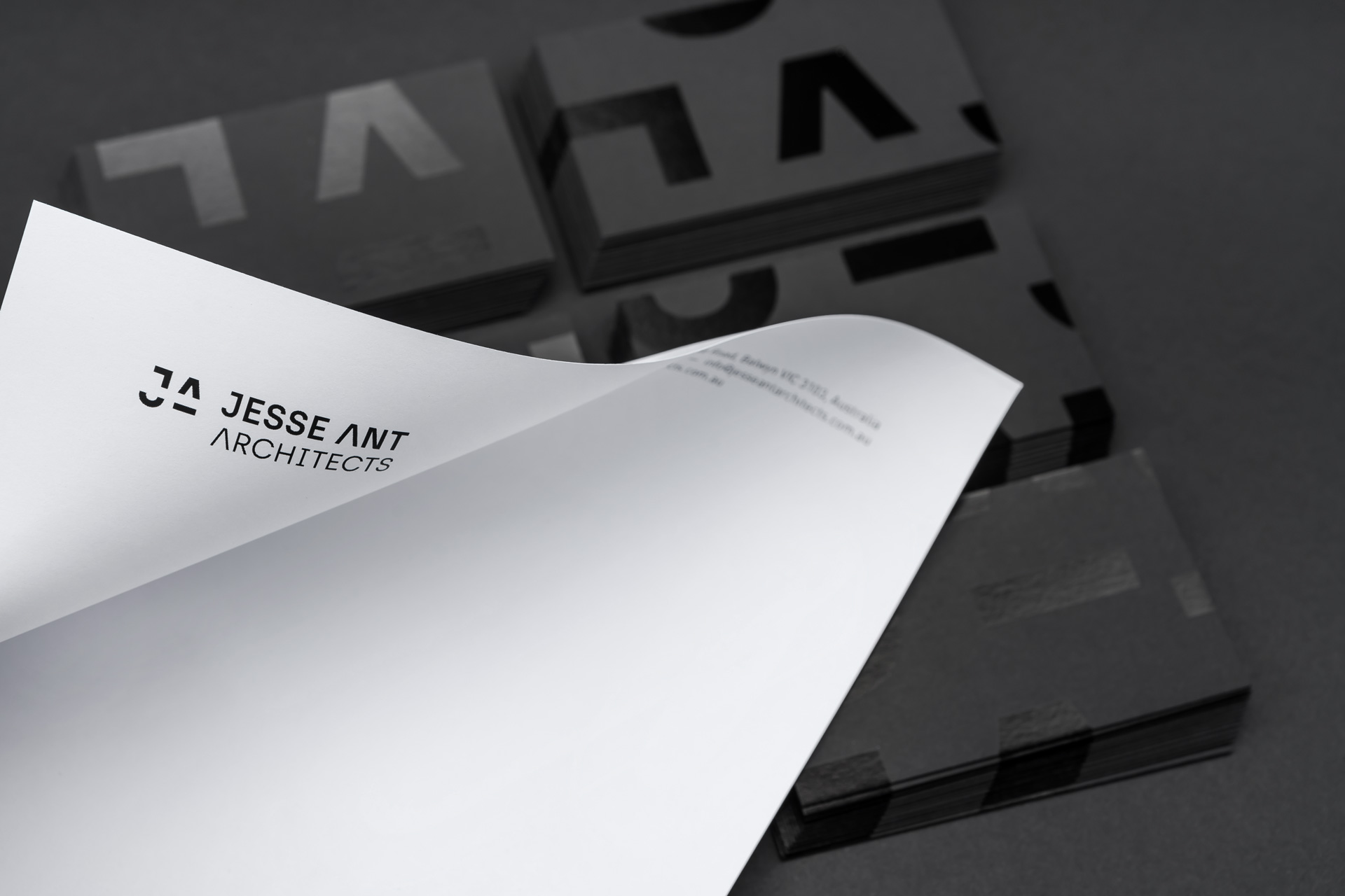 Jesse Ant Architects branding