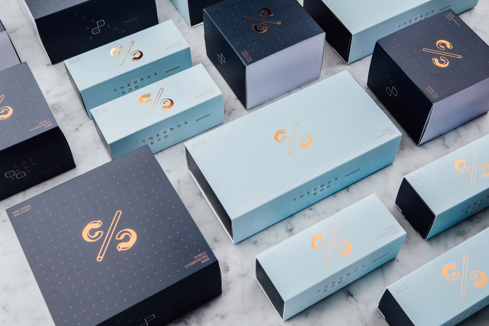 The Crux & Co packaging